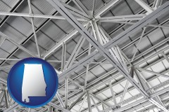 Alabama - a prefabricated ceiling