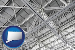 connecticut map icon and a prefabricated ceiling