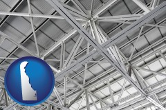 delaware map icon and a prefabricated ceiling