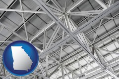 Georgia A Prefabricated Ceiling