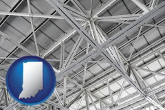 Indiana - a prefabricated ceiling