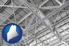 Maine - a prefabricated ceiling