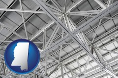 mississippi a prefabricated ceiling