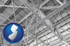 New Jersey - a prefabricated ceiling