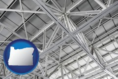 oregon map icon and a prefabricated ceiling