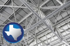 Texas - a prefabricated ceiling