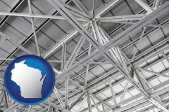 Wisconsin - a prefabricated ceiling