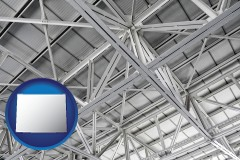 wyoming a prefabricated ceiling