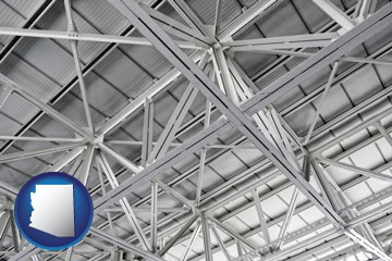 a prefabricated ceiling - with Arizona icon