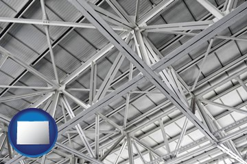 a prefabricated ceiling - with Colorado icon