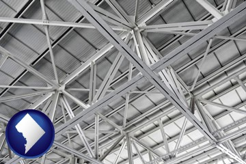 a prefabricated ceiling - with Washington, DC icon