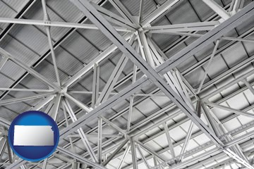 a prefabricated ceiling - with Kansas icon