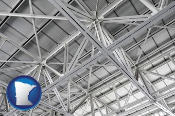 a prefabricated ceiling - with Minnesota icon