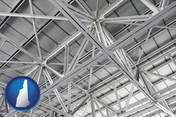 a prefabricated ceiling - with New Hampshire icon
