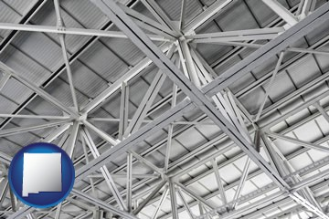 a prefabricated ceiling - with New Mexico icon