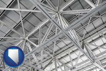 a prefabricated ceiling - with Nevada icon