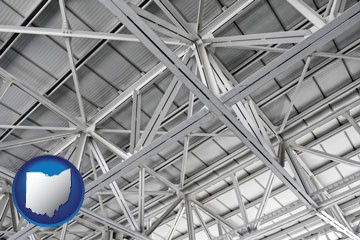 a prefabricated ceiling - with Ohio icon