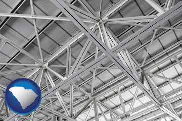 a prefabricated ceiling - with South Carolina icon