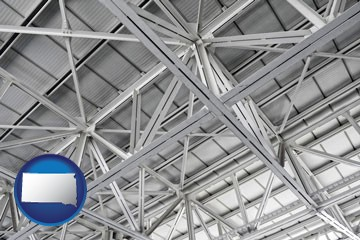 a prefabricated ceiling - with South Dakota icon
