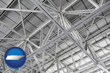 a prefabricated ceiling - with Tennessee icon