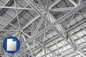 a prefabricated ceiling - with Utah icon