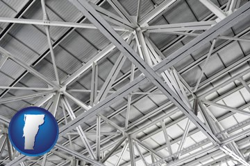 a prefabricated ceiling - with Vermont icon